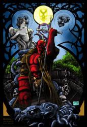 Hellboy Collab by Darkratbat