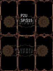 [P2U]Adoptable  frame  :open by BLUEBELLWIPWIP