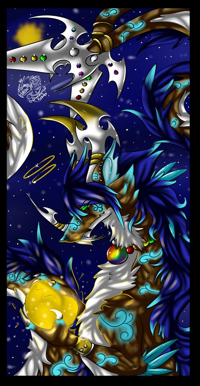 Sapphirus's True form +Double-Divine Goddess+ by iSapphirus