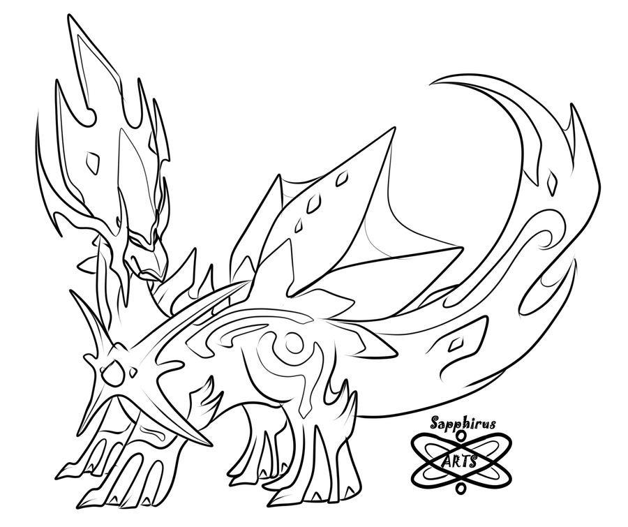 how to draw white kyurem