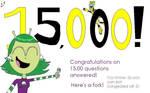 15,000 Questions