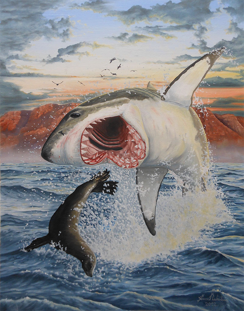 Air jaws by jasonnicholsonart on deviantart for Picture great