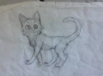 Warrior Cat? by MorganOShamrock