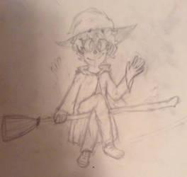 Unnamed Witch Boi by MorganOShamrock
