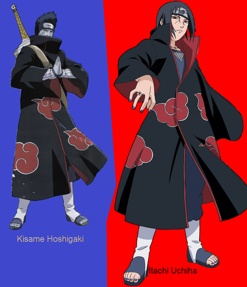Kisame Hoshigaki And Itachi Uchiha By RealItachiUchiha On