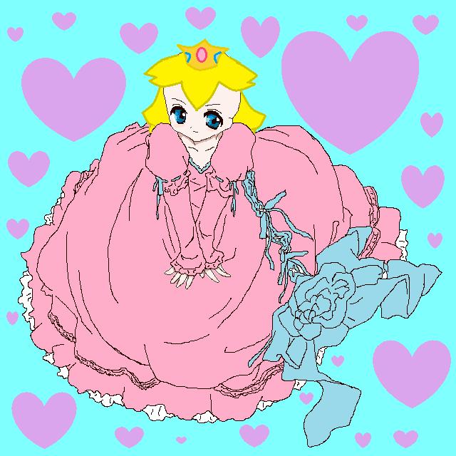 Princess Peach by RoseDragon125 on DeviantArt