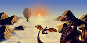 Dragon's first flight