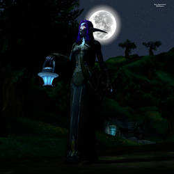 AT: Midnight Walk by KateLightshield