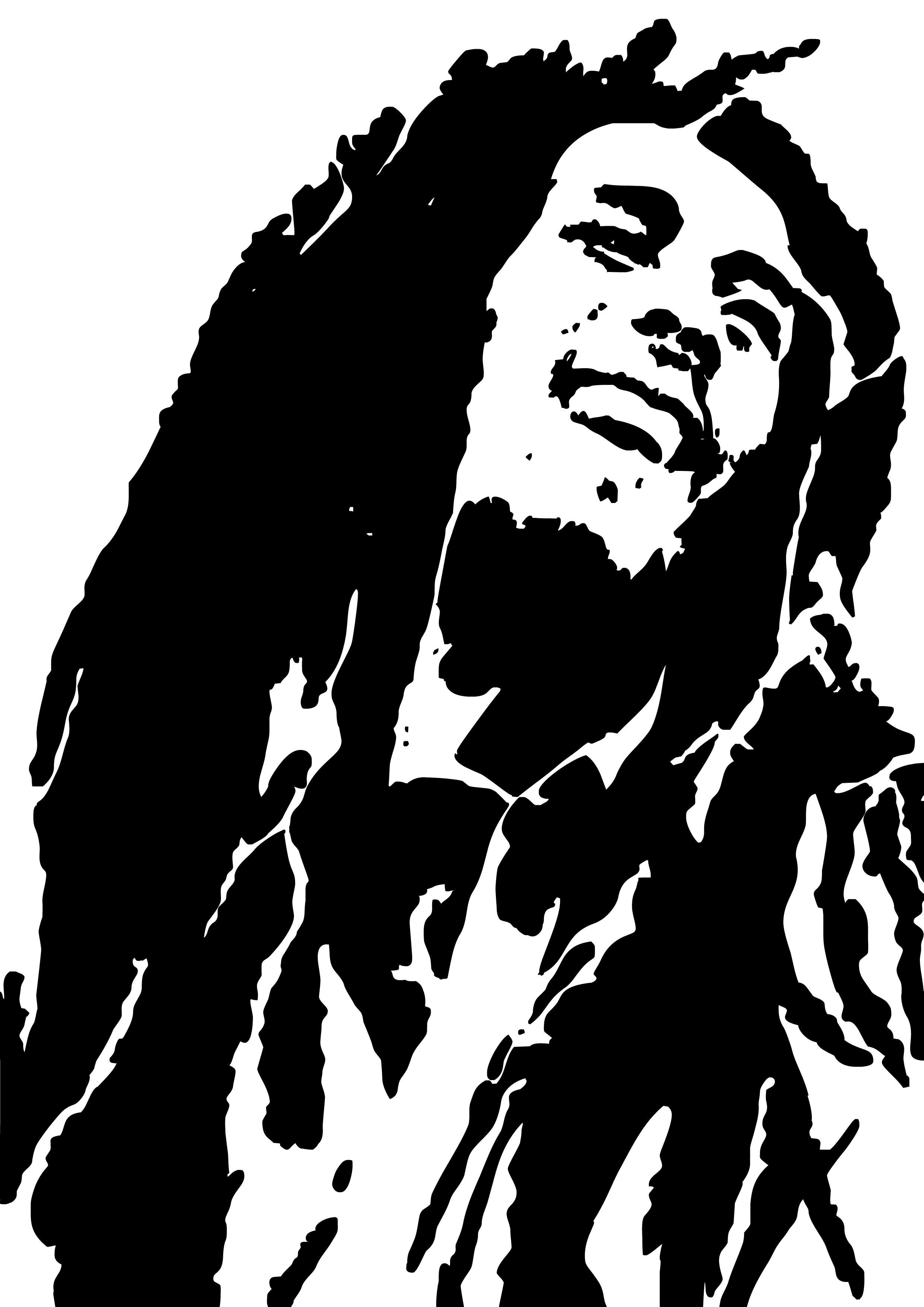 bob marley print by eddywestbury on deviantart