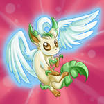 Leafeon used Aerial Ace