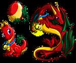 Holly Dragon by homa-Nix