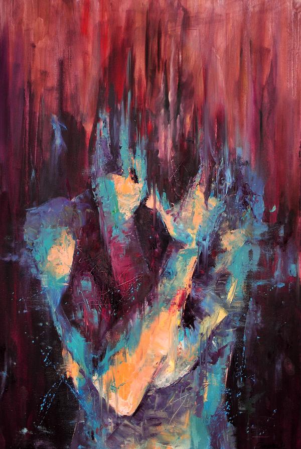 Oxidised - oil on canvas by SamanthaLi