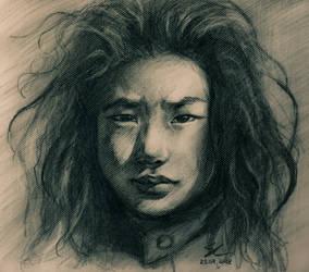 Don't cry, Tibetan boy