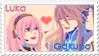 .:Gakupo X Luka Stamp:. by Angeru-chan