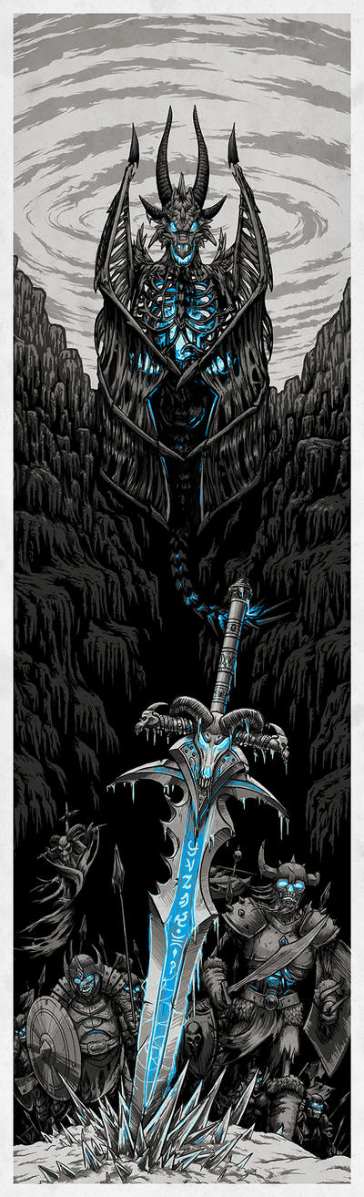 Wrath of the Lich King by T-Tiger
