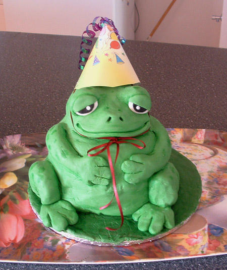 Froggy Cake by T-Tiger