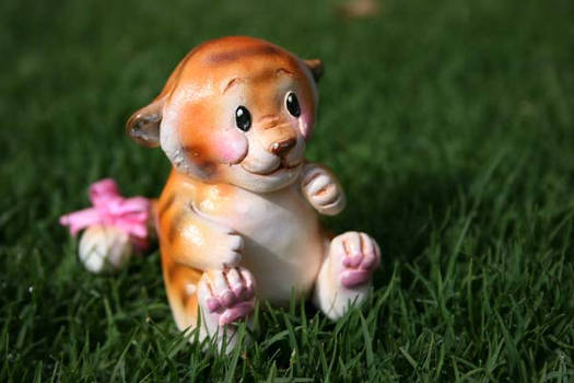 Lil tiger Sculpture
