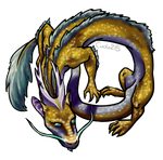 Shimmer-scale Dragon