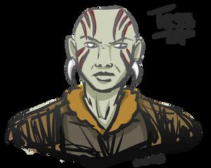 Tess the Goliath Rogue