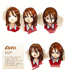 CIO Character exp. sheet: rocio by ghevan