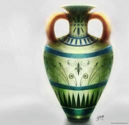 A strange vase