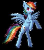 Rainbow Dash by DayDreamerForever95