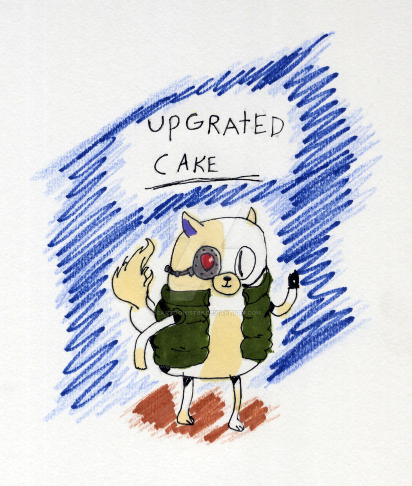 Upgraded-Cake by cartoonist66