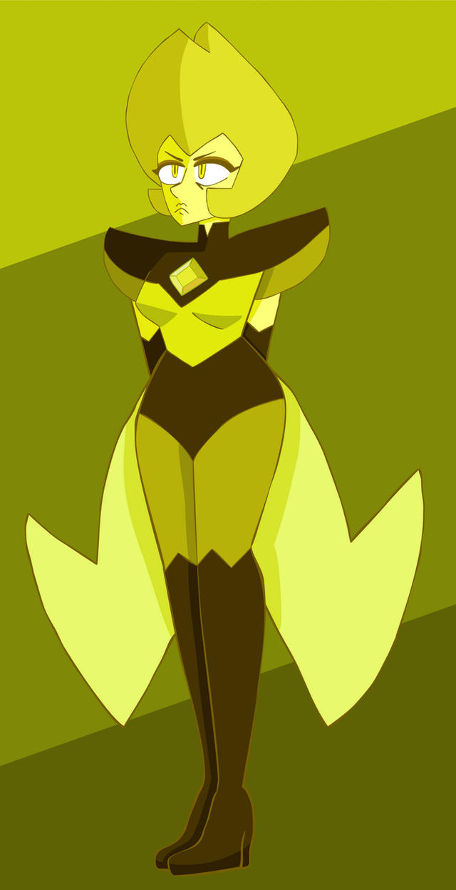 Yellow Diamond by cartoonist66