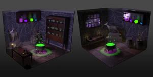 Witch Alchemy Room