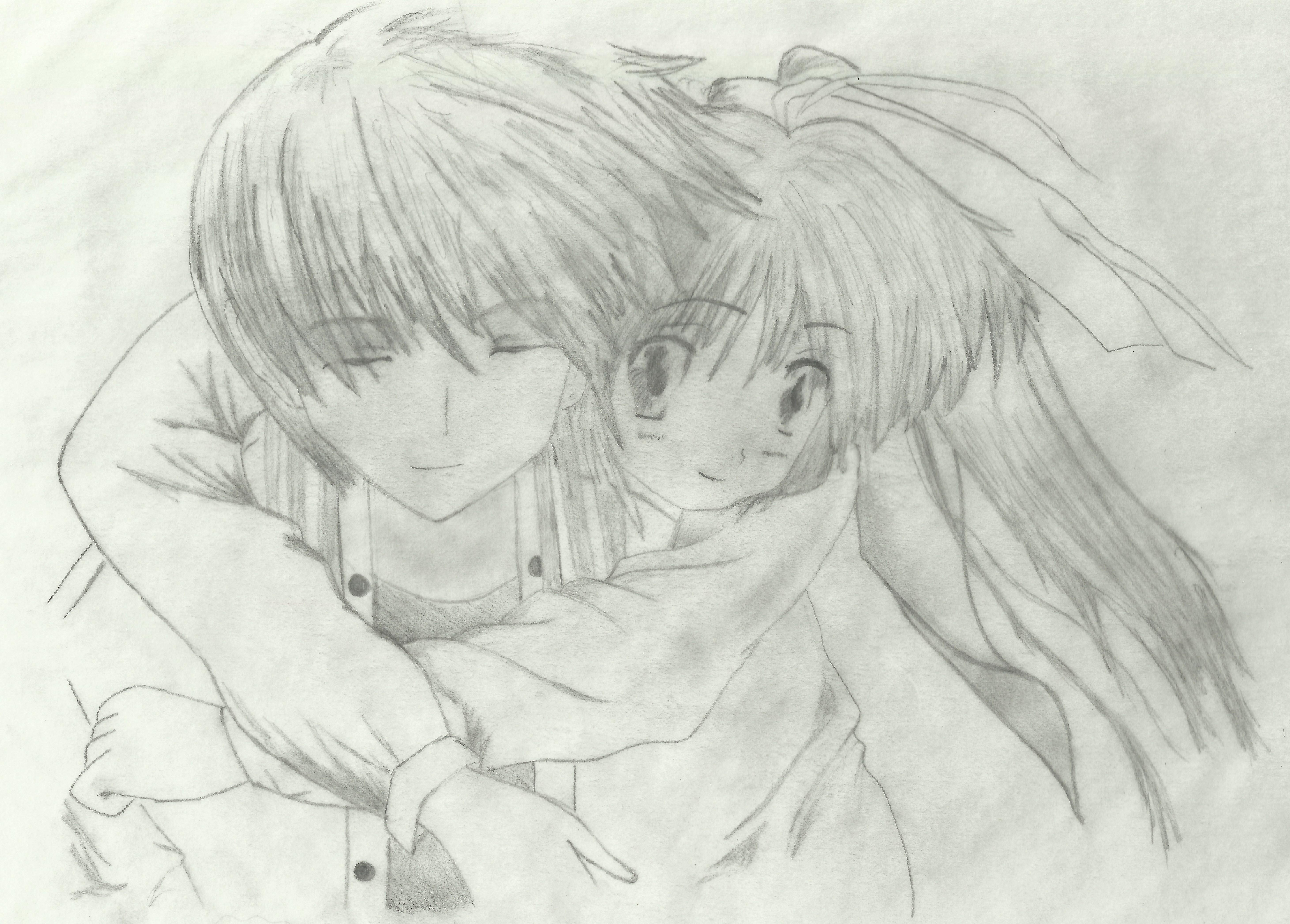 Anime love draw