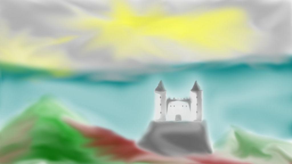 Castle Paysage by Kyatric