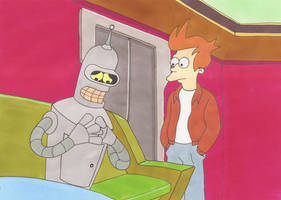 Bender anxious by silverben