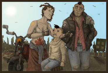 A Bulletbiter Family Portrait. by ContrivanceConcept