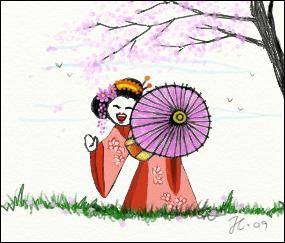 Little Geisha by Gothdarling
