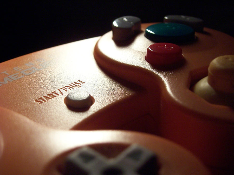 Gamecube Controller by BE4R on deviantART