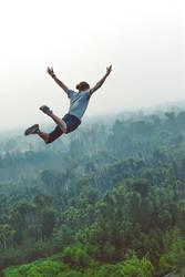 Free Falling by Areka-Johnson