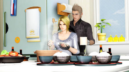 Ignis X Helena Cooking by Milefortune