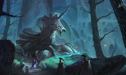 Trojan Horse was a Unicorn contest by strenerus