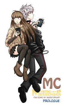 MC Prologue Cover Mystic Messenger Fan Comic