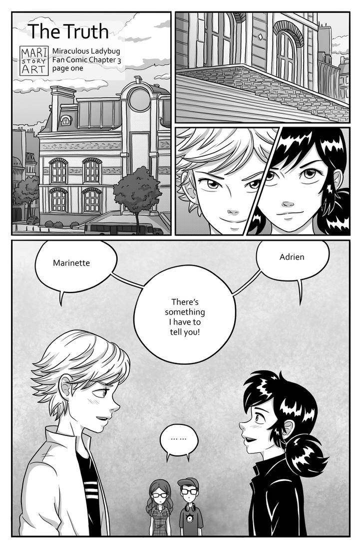 The Truth Page One (chapter3) by MariStoryArt