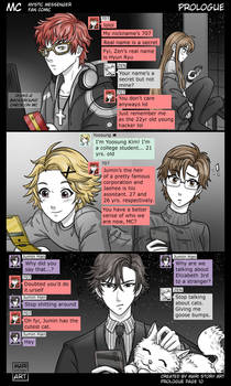 MC Prologue Pg 10 Mystic Messenger Fan Comic