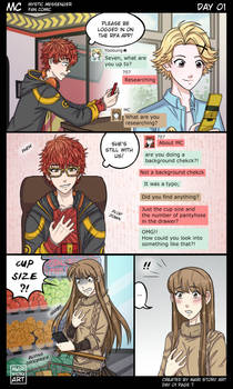 MC Day One Pg 7 Mystic Messenger