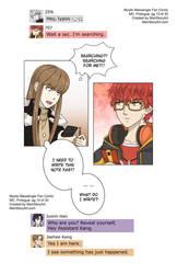 MC, Mystic Messenger Fan Comic, Prologue pg13