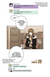 MC, Mystic Messenger Fan Comic, Prologue pg14