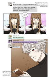 MC, Mystic Messenger Fan Comic, Prologue pg17