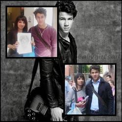 Meeting Nick Jonas by babygirlsart