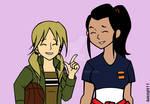 Girl version Rex and Noah