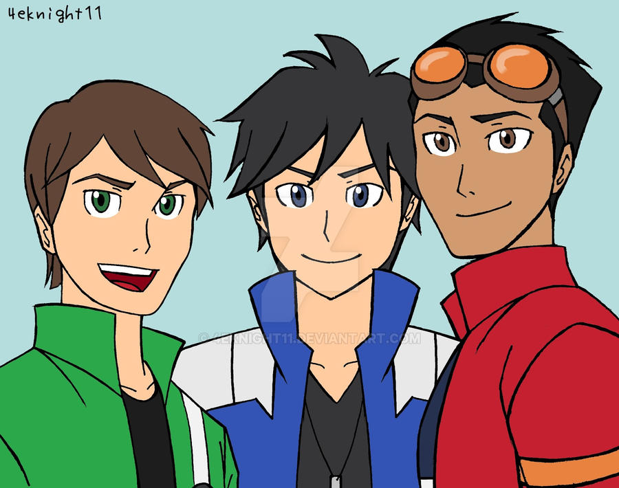 Coolest Heroes by 4eknight11