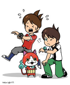 BEN10 and Youkai Watch