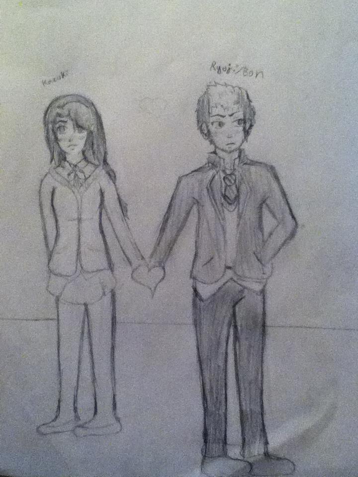 Kazuki and Bon-Blue Exorcist//Unfinished by Lemonthrower